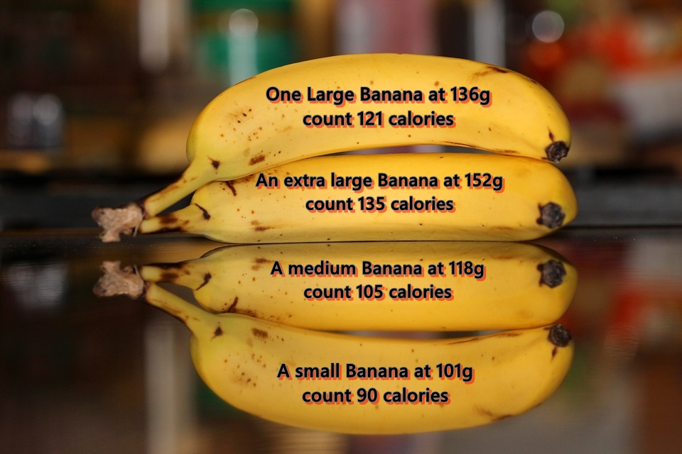 How Many Calories In A Banana Lifestyle Changes